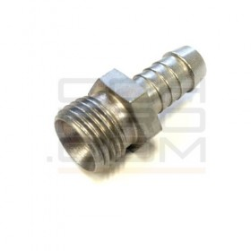 Hose Nipple With External Thread - M12x1.5 / 60° Cone / 5-6mm Hose