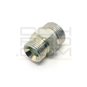 Threaded Adapter - M16x1.5 to M16x1.5 / 2x 60° Cone