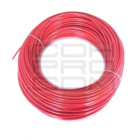 Polyamide Tube - 2mm ID / 4mm OD / Red